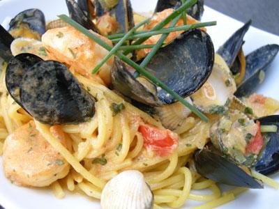 how to cook pasta fruit de mer