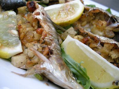 Sardines farcies à la méridionale
