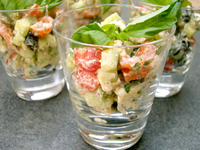 Salade fêta