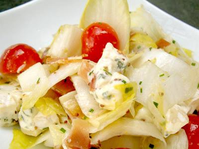 Salade d'endives au bleu d'Auvergne