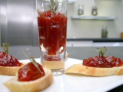 Confiture de tomates au vinaigre de xérès