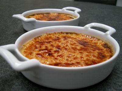 Crèmes brûlées au Grand Marnier