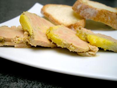 Terrine de foie gras au cognac